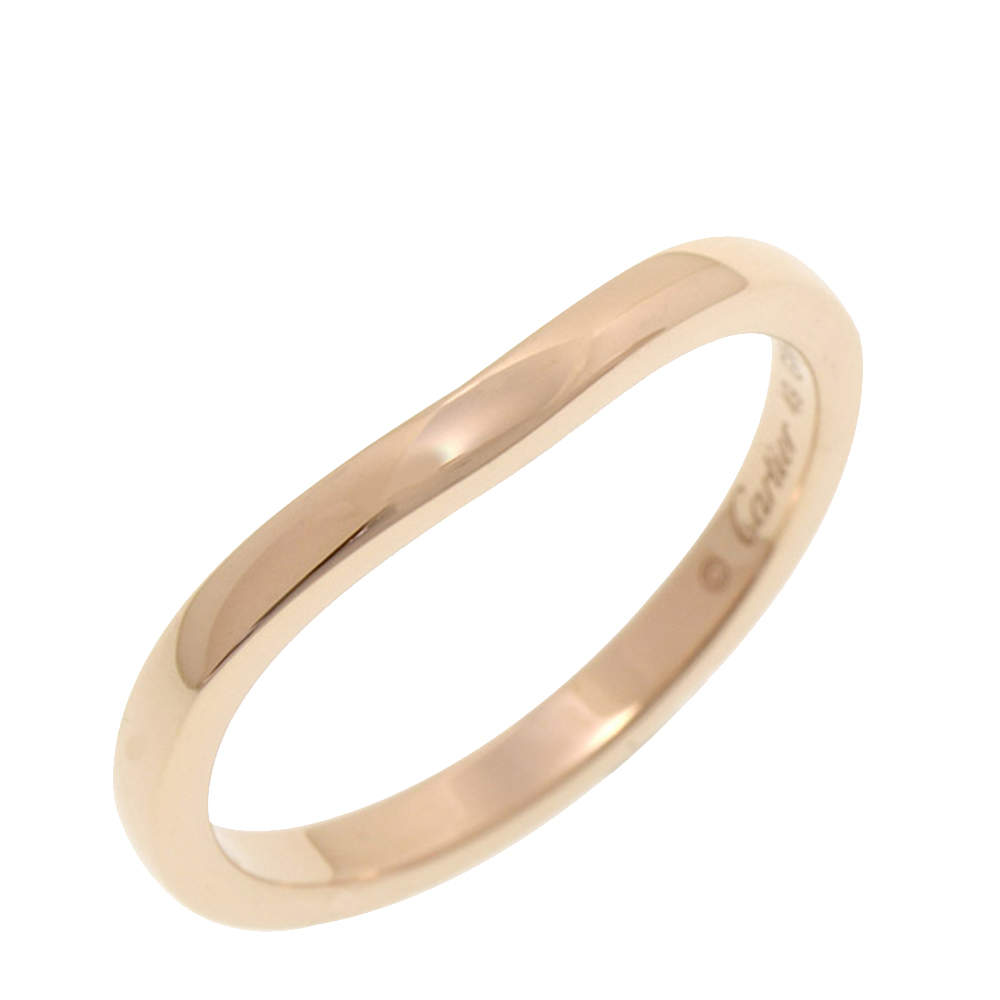 Cartier Ballerina Curve 18K Rose Gold Ring