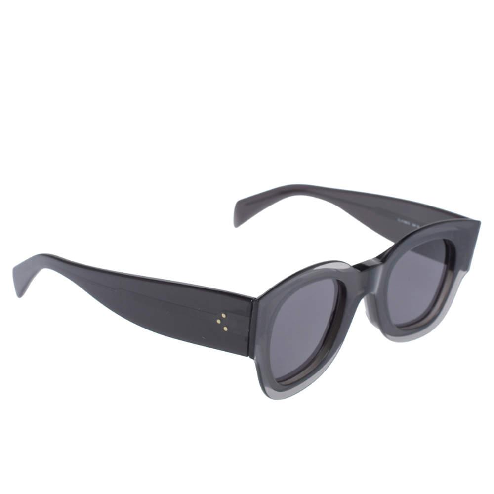 نظارة شمسية سيلين زوي مربع CL41446/S رصاصية/ سوداء