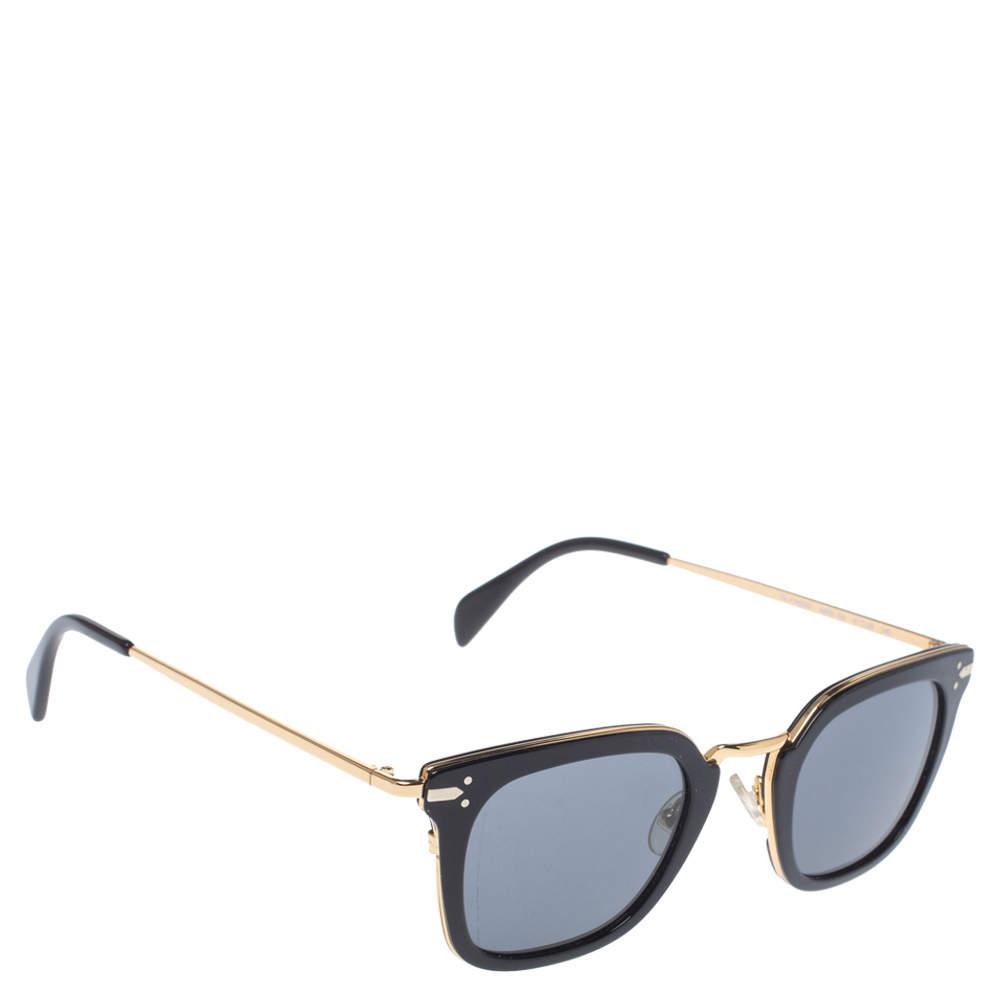 Céline Black & Gold/ Grey CL 41402/s Vic Square Sunglasses