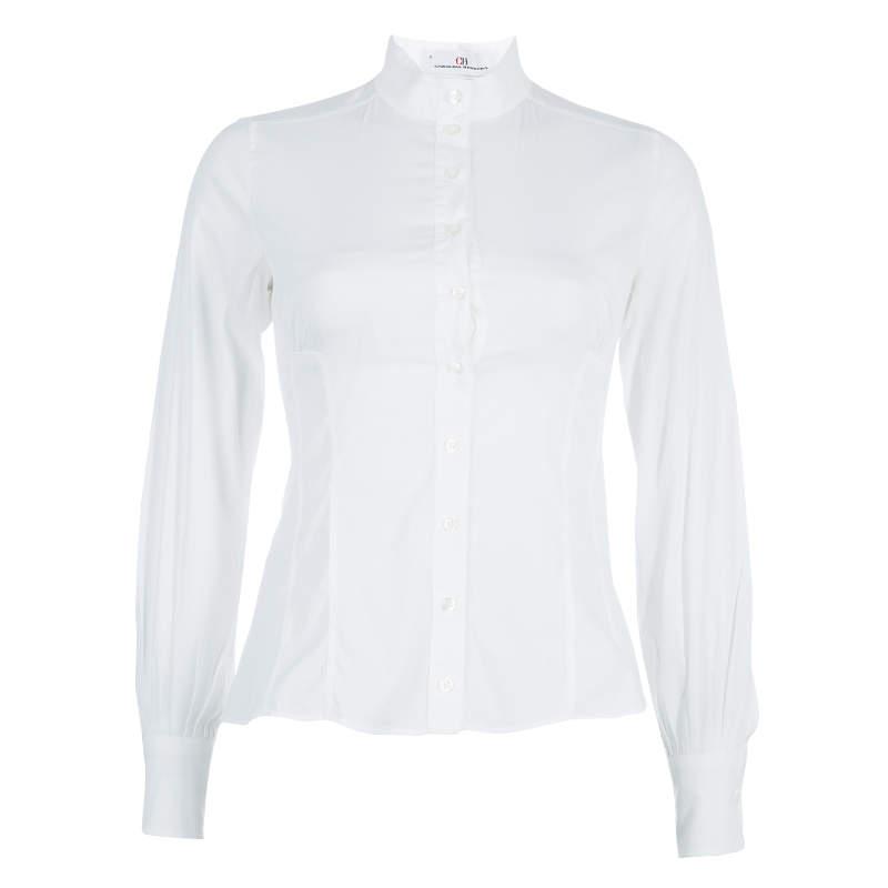 CH Carolina Herrera White Shirt S