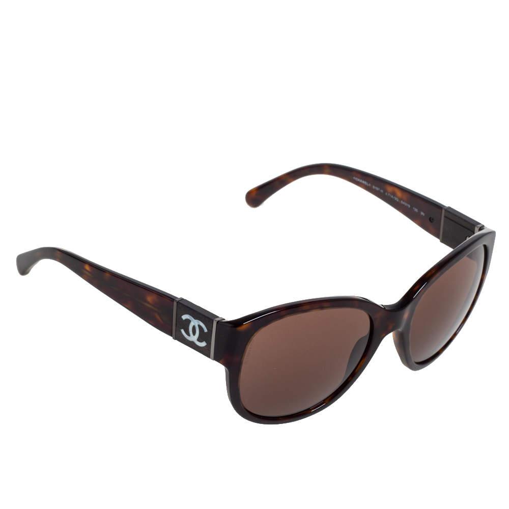 Chanel Dark Havana/ Brown 5197-H Sunglasses