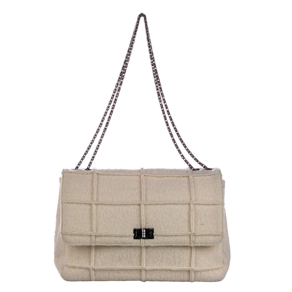 Chanel Beige Vintage Reissue Flap Bag