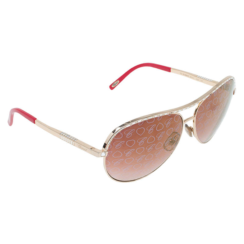 Chopard Rose Gold SCH 8070 Special Edition Aviators