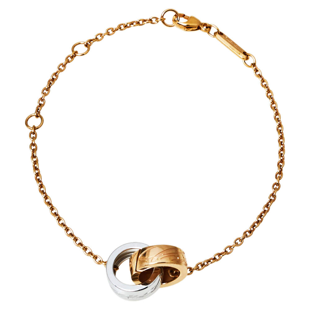 Chopard Chopardissimo 18K Two Tone Gold Bracelet