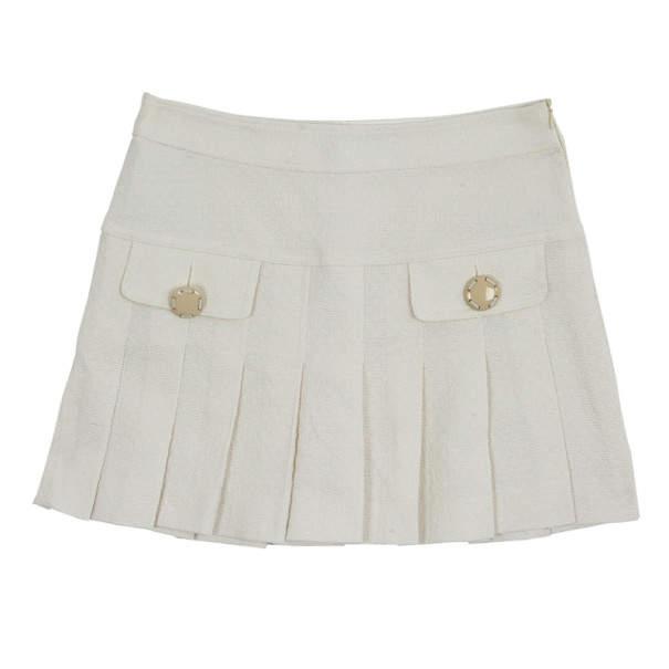 D&G Pleated Short Skirt S