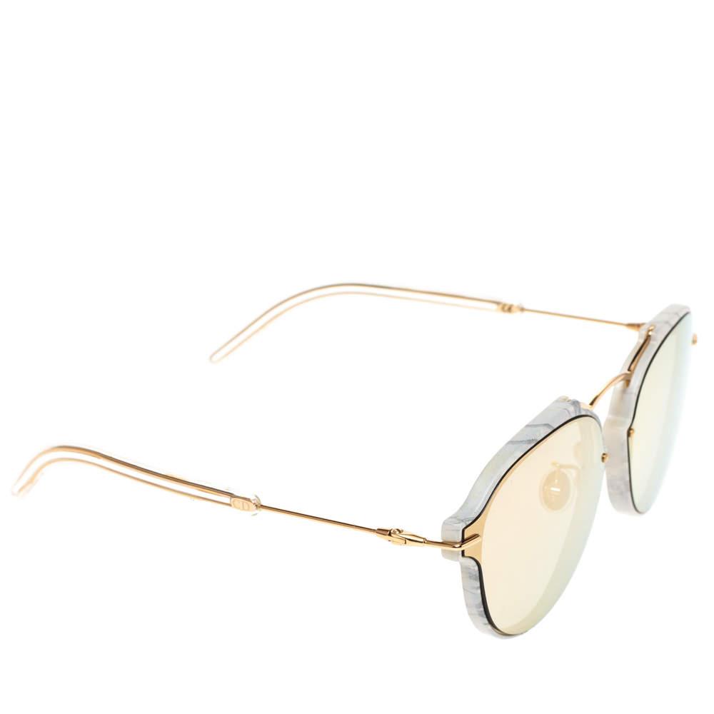 Dior Grey Marble Mirror GBZ0J Eclat Mirrored Sunglasses