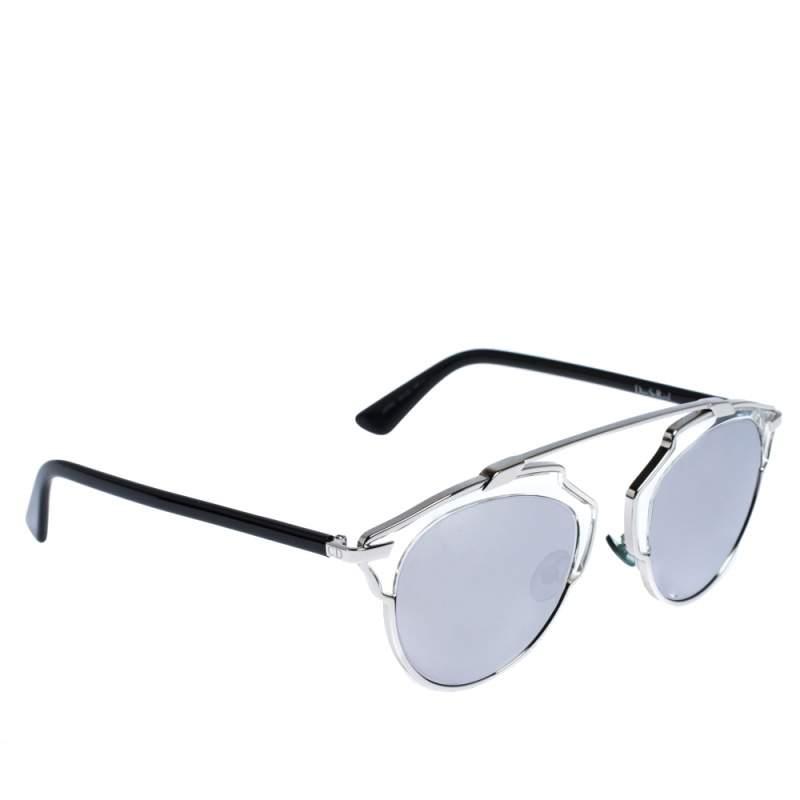Dior Silver Mirror APPDC DiorSoReal Sunglasses