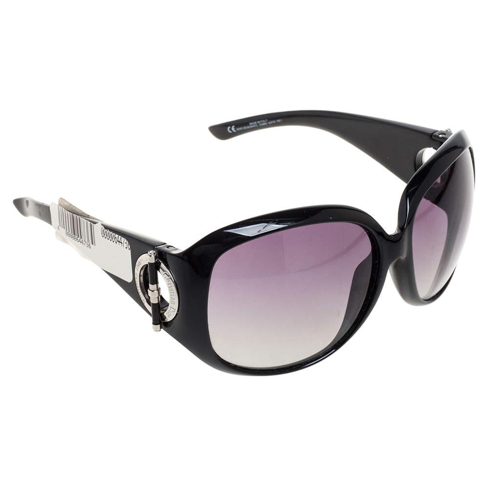 Dior Black Gradient D28N3 Oversized Sunglasses