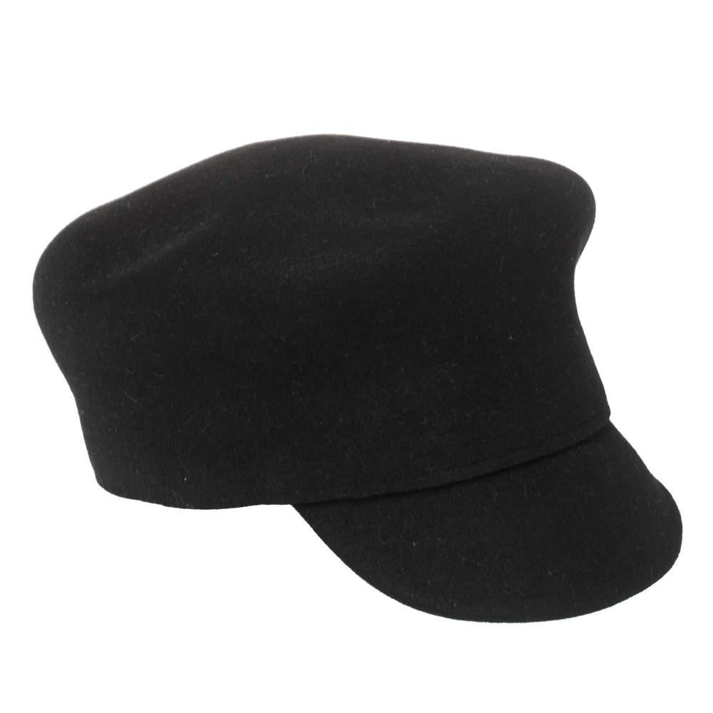 Dior Black Felt Cloche Arty Hat