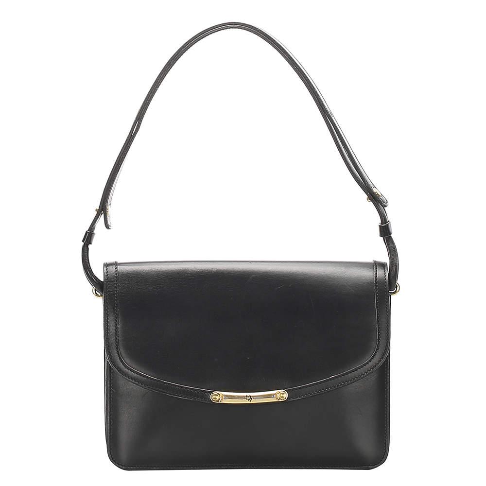Dior Black Leather Bag