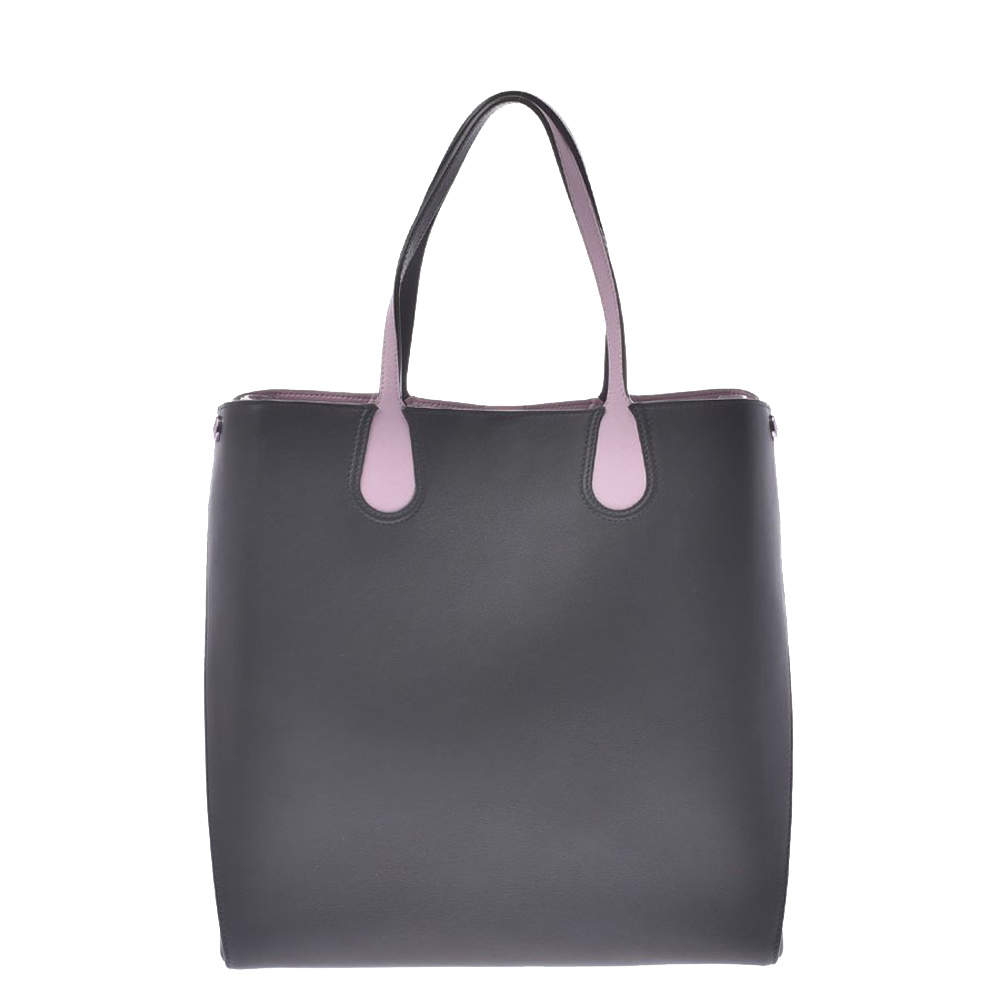 Dior Grey Leather Dioraddict Tote Bag