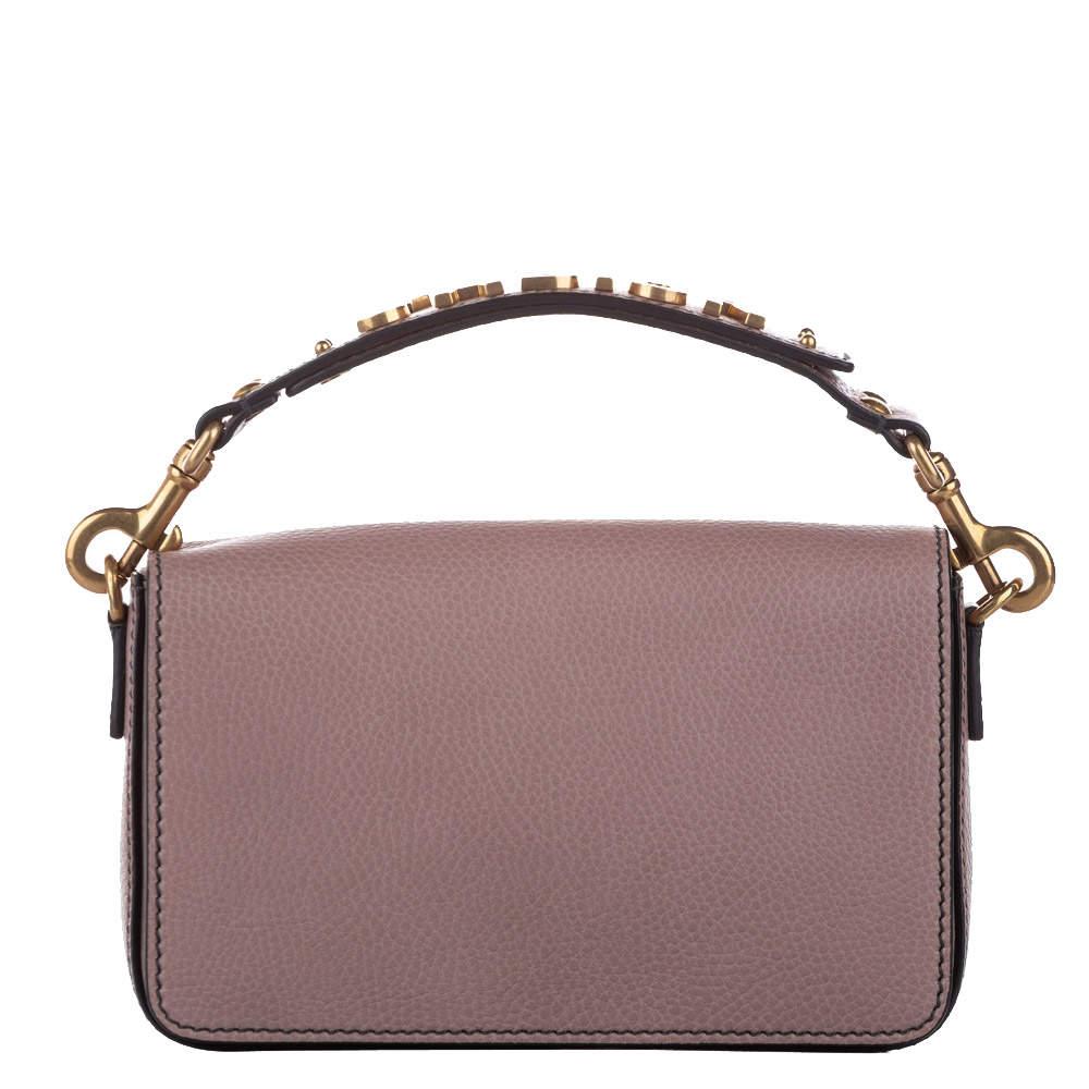 Dior Pink Leather J'adior Top Handle Bag