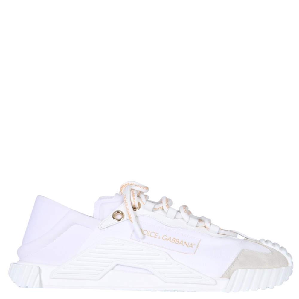 Dolce & Gabbana White NS1 Slip on Sneakers Size IT 40