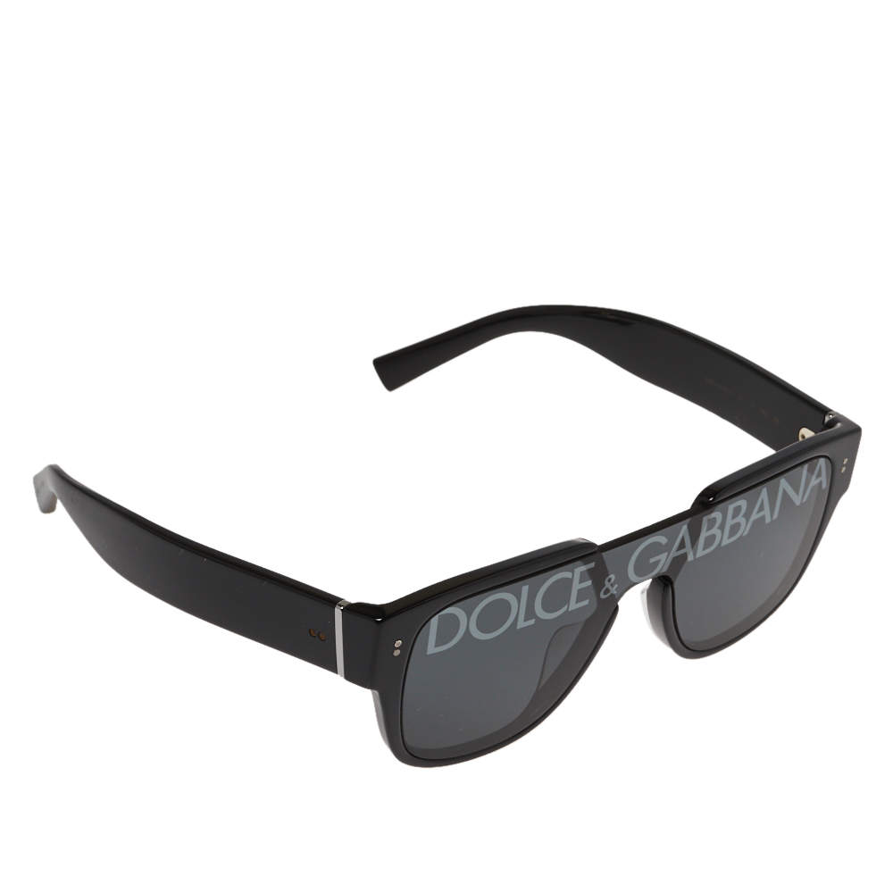 Dolce & Gabbana Black / Smoke DG 4356 Domenico Monolens Sunglasses