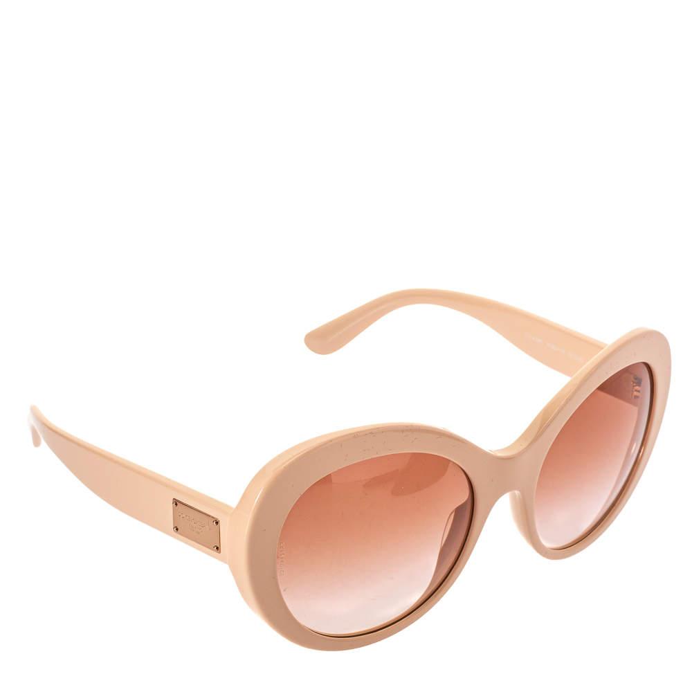 Dolce & Gabbana Salmon Pink/ Pink Gradient DG 4295 Cat Eye Sunglasses