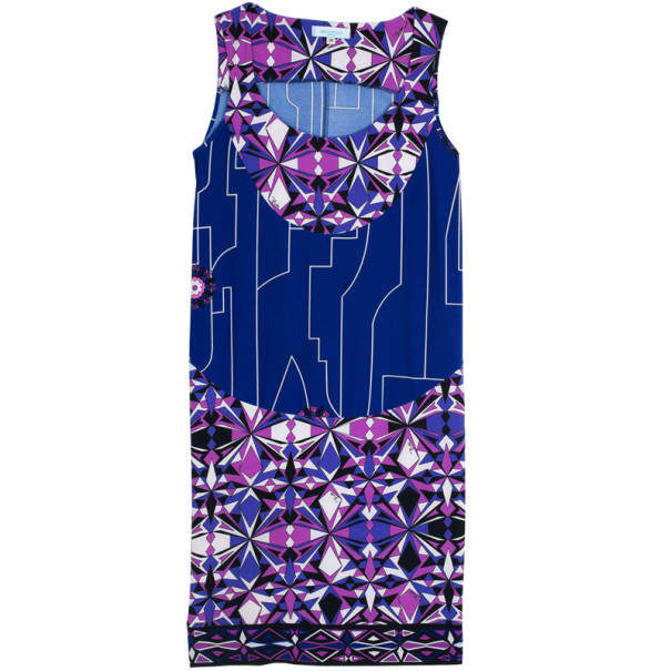 Emilio Pucci Printed Jersey Dress XS