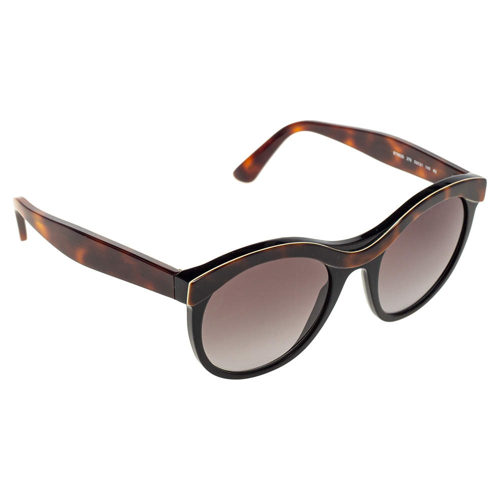 Etro Havana/Black Gradient ET652S Cat Eye Sunglasses