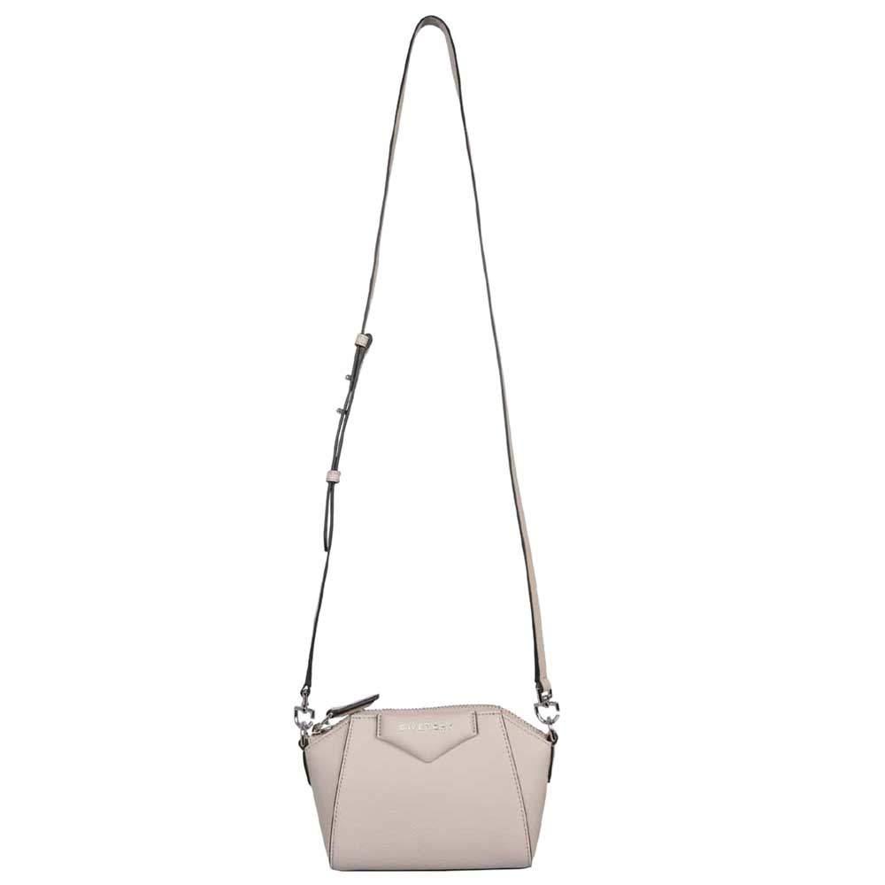 Givenchy White Leather Antigona Mini Crossbody Bag
