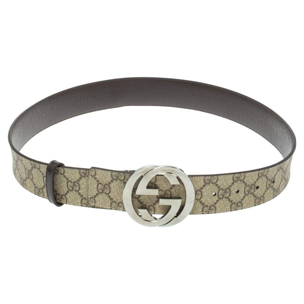 حزام غوتشي كانفاس سوبريم جي جي بيج 90 سم