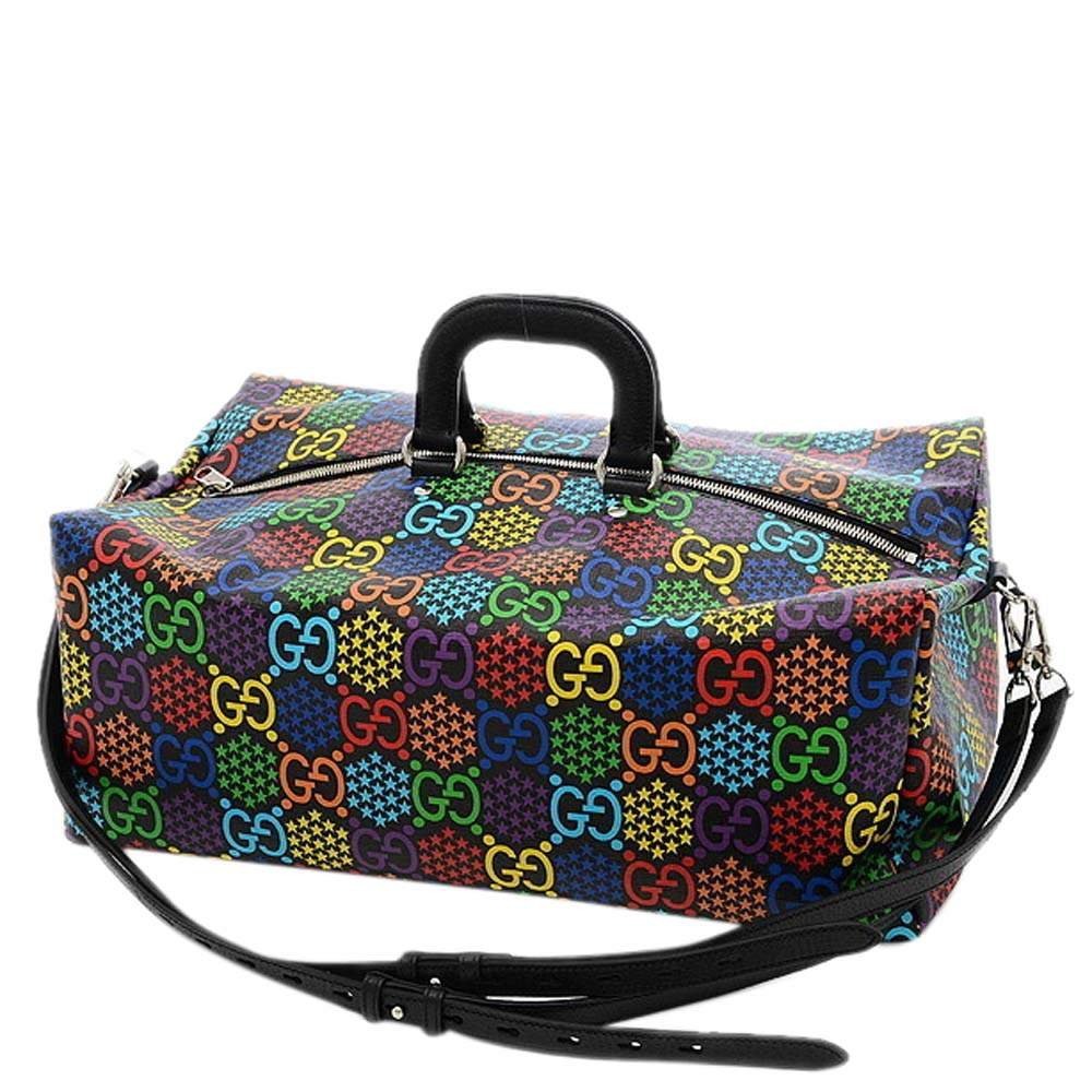 Gucci  Canvas Gg Psychedelic  Duffel Bags
