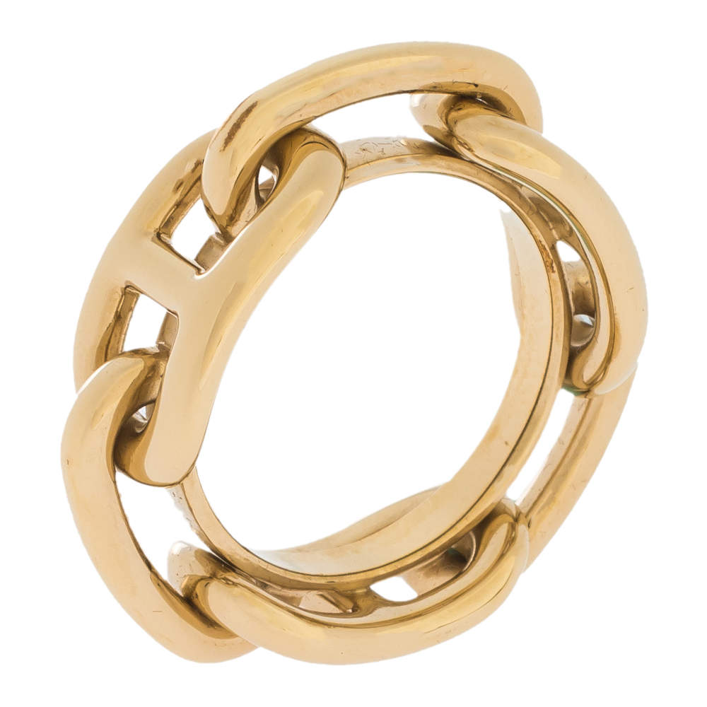 Hermes Regate Permabrass Scarf Ring