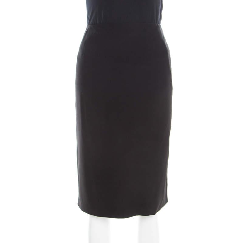 Jil Sander Black Pencil Skirt L
