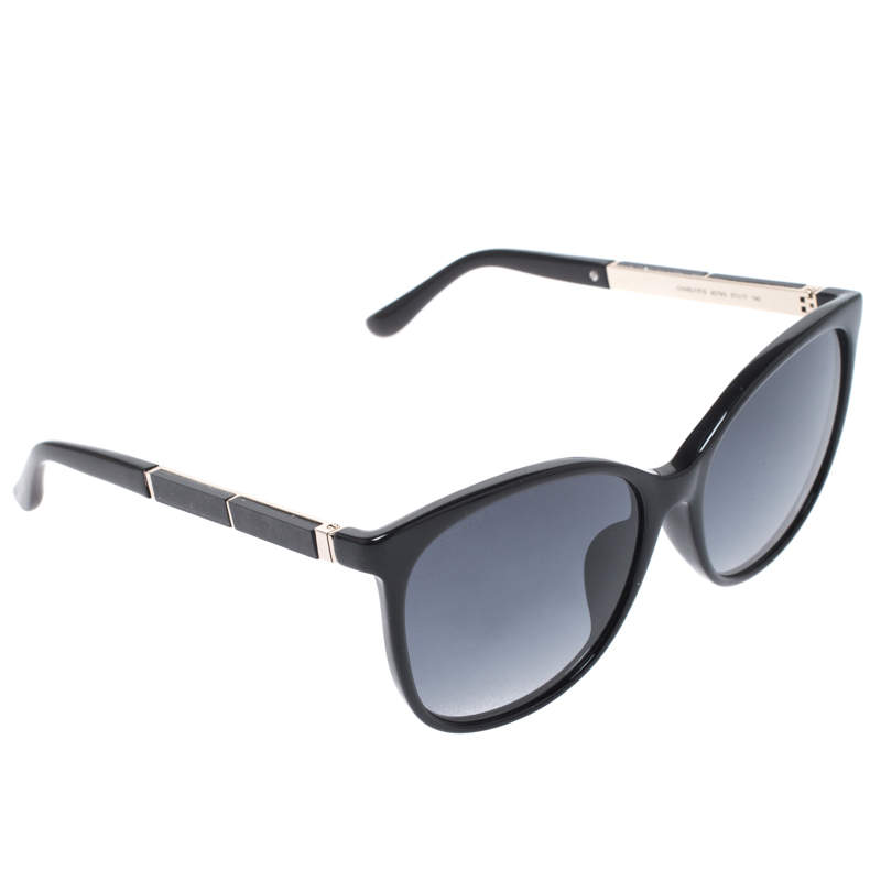 Jimmy Choo Black/ Blue Gradient Charly/F/S Square Sunglasses