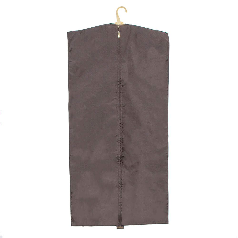 Louis Vuitton Brown Nylon Garment Cover and Hanger
