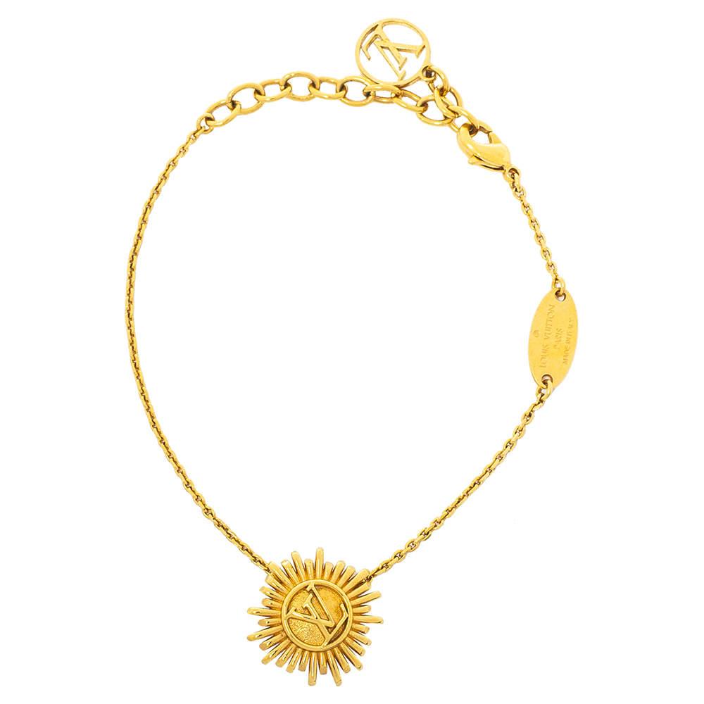Louis Vuitton Gold Tone Place Vendôme Bracelet