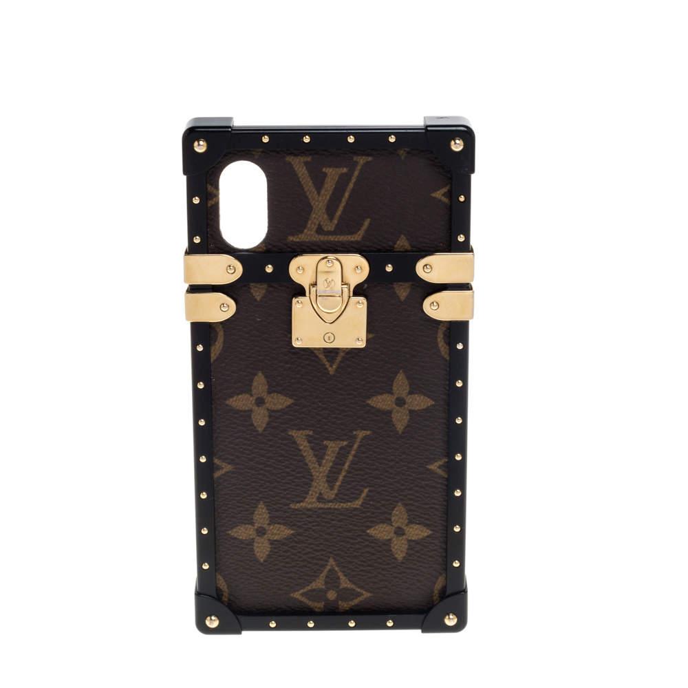 Louis Vuitton Monogram Canvas Eye-Trunk iPhone X Holder
