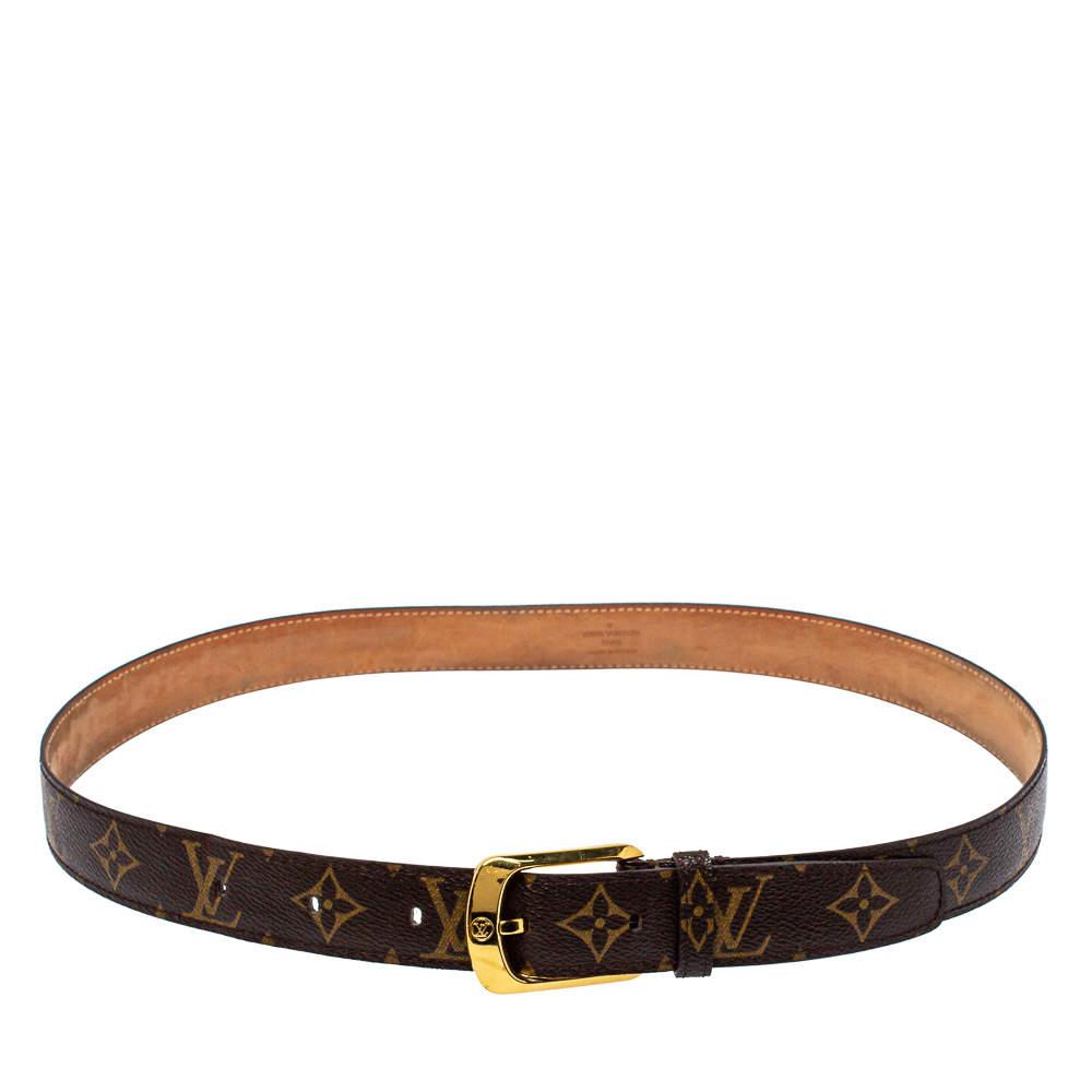 حزام لوي فيتون إكليبس كانفاس مونوغرامي 90 سم