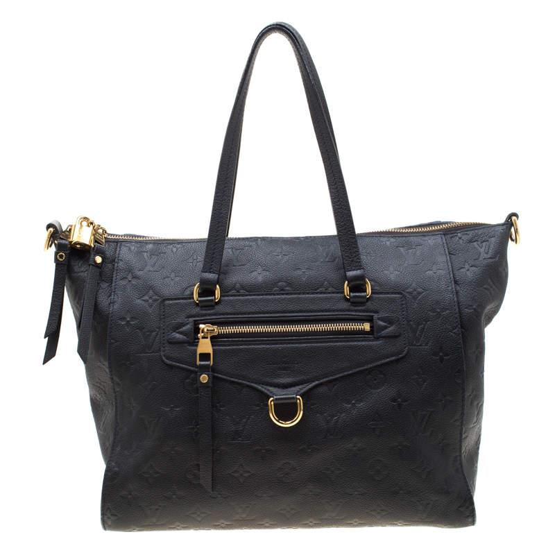 Louis Vuitton Black Empreinte Leather Lumineuse PM Bag