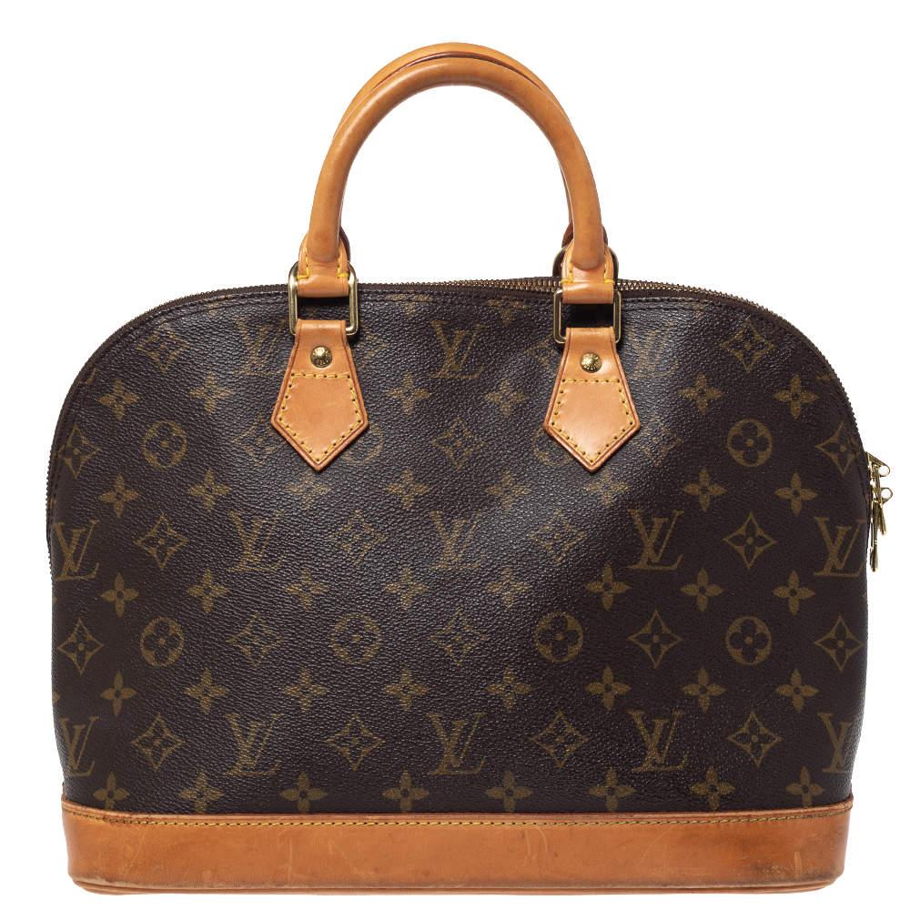Louis Vuitton Monogram Canvas Alma Pm Bag Louis Vuitton Tlc