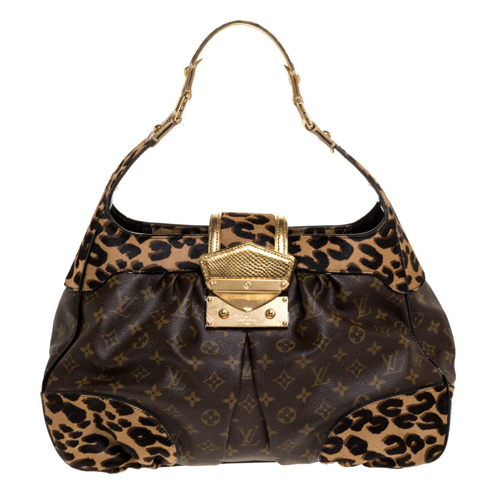 Louis Vuitton Monogram Leopard Limited Edition Polly Bag