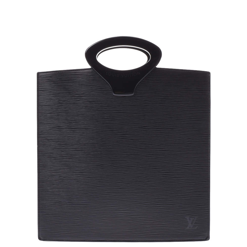 Louis Vuitton Black Epi Leather Ombre Bag