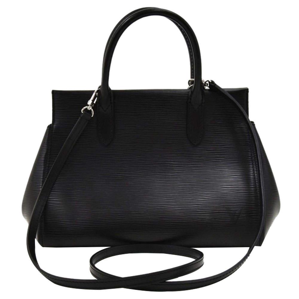 Louis Vuitton Black Epi Leather Marly MM Bag