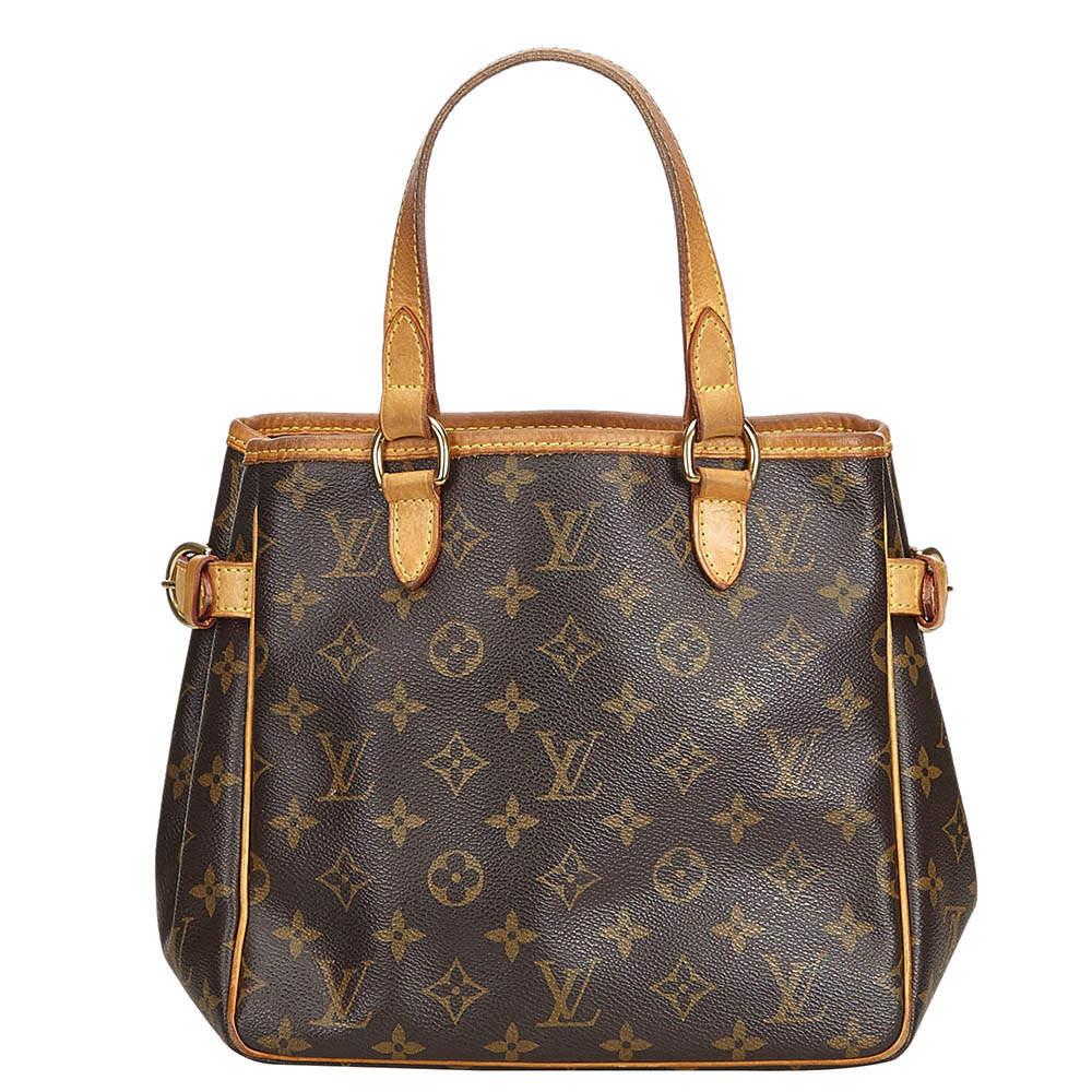 Louis Vuitton Monogram Canvas Batignolles Vertical PM Bag