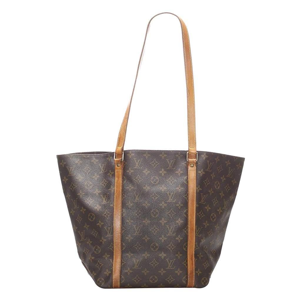 Louis Vuitton Monogram Canvas Sac Shopping 48 Bag