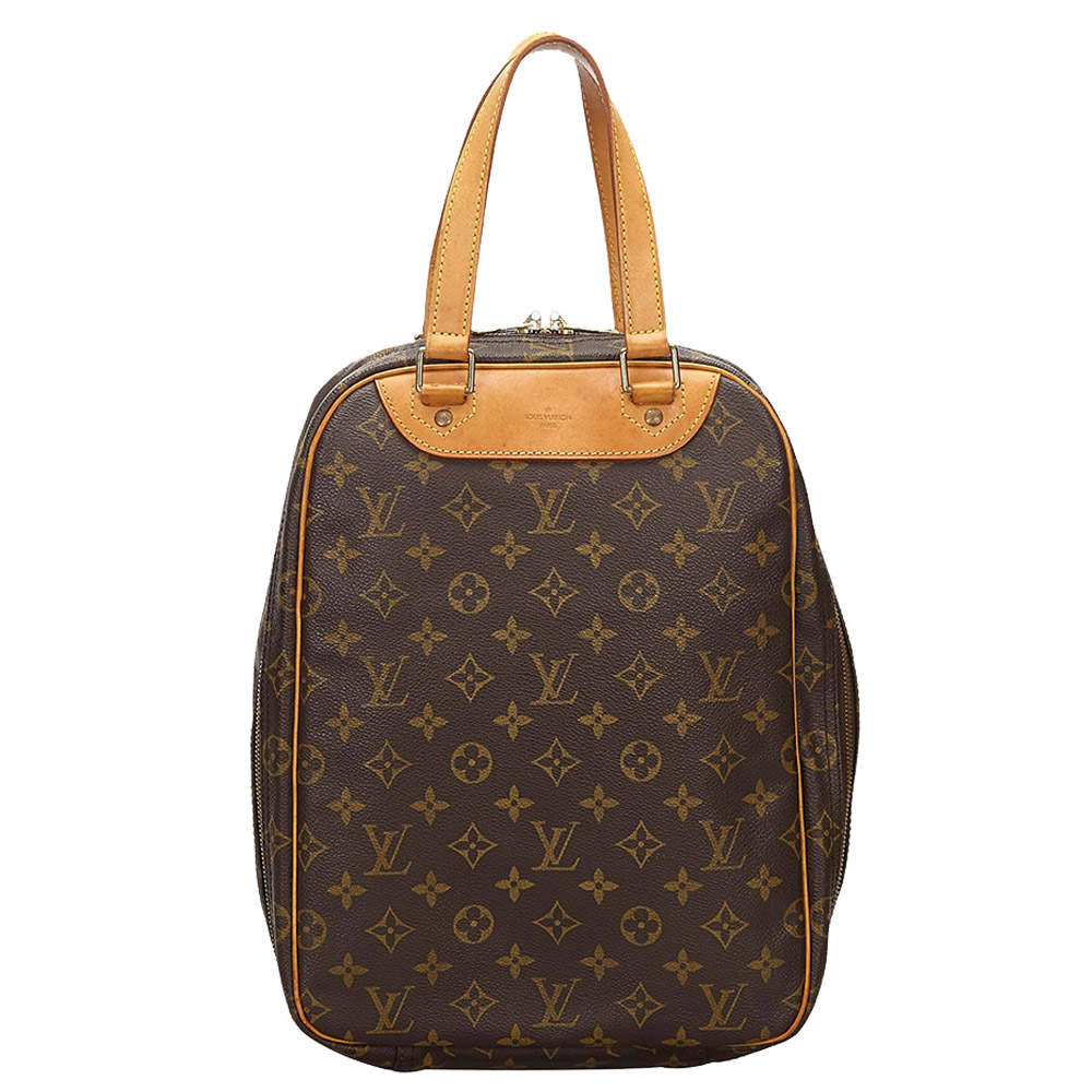 Louis Vuitton Brown Monogram Canvas Excursion Bag