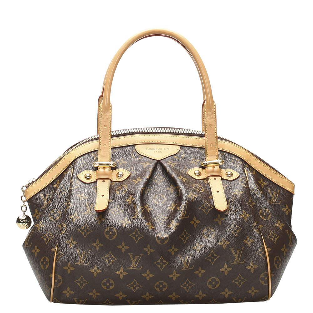 Louis Vuitton Brown Monogram Canvas Tivoli GM bag