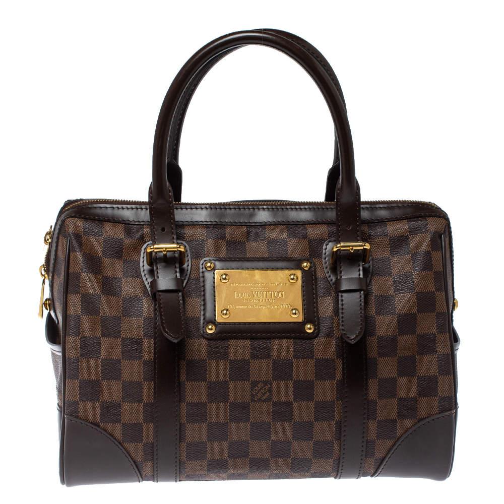 Louis Vuitton Damier Ebene Canvas Berkeley Bag
