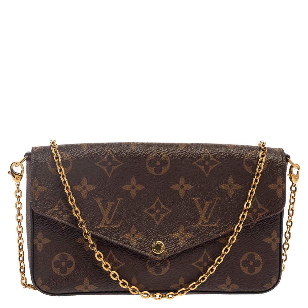 Louis Vuitton Monogram Canvas Felicie Pochette Bag