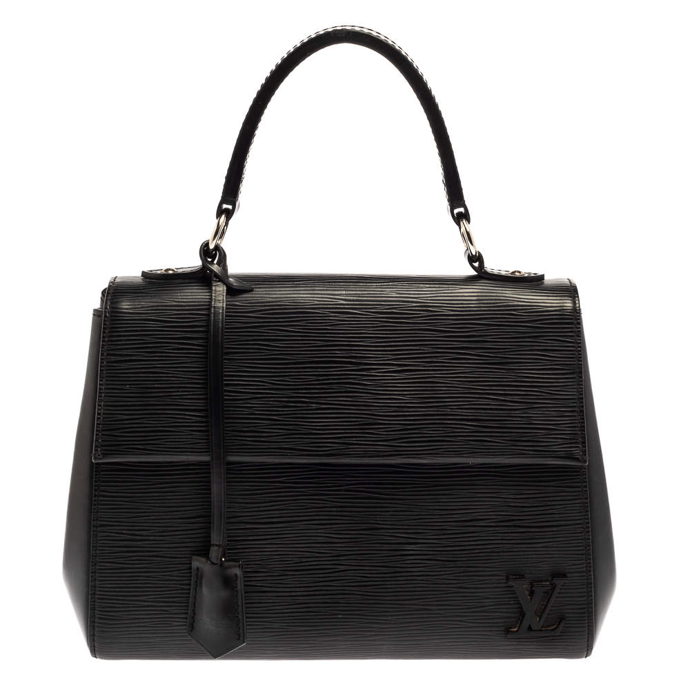Louis Vuitton Black Epi Leather Cluny BB Bag