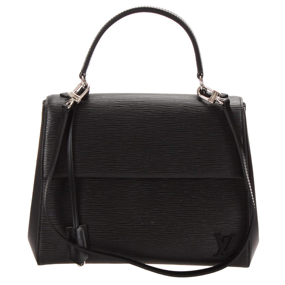 Louis Vuitton Black Epi Leather Cluny BB Bag