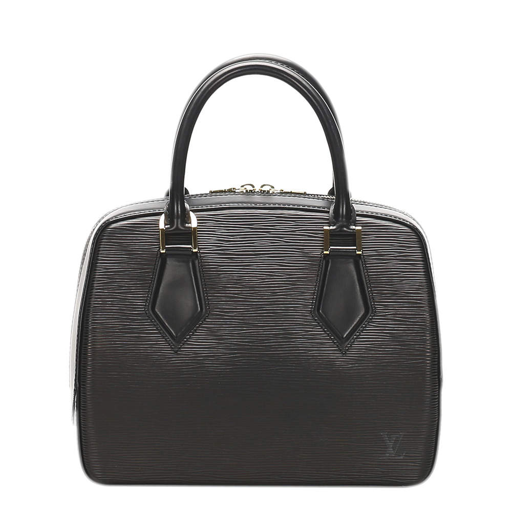 Louis Vuitton Black Epi Leather Sablons Bag