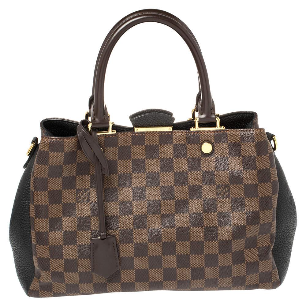 Louis Vuitton Damier Ebene Canvas Brittany BB Bag