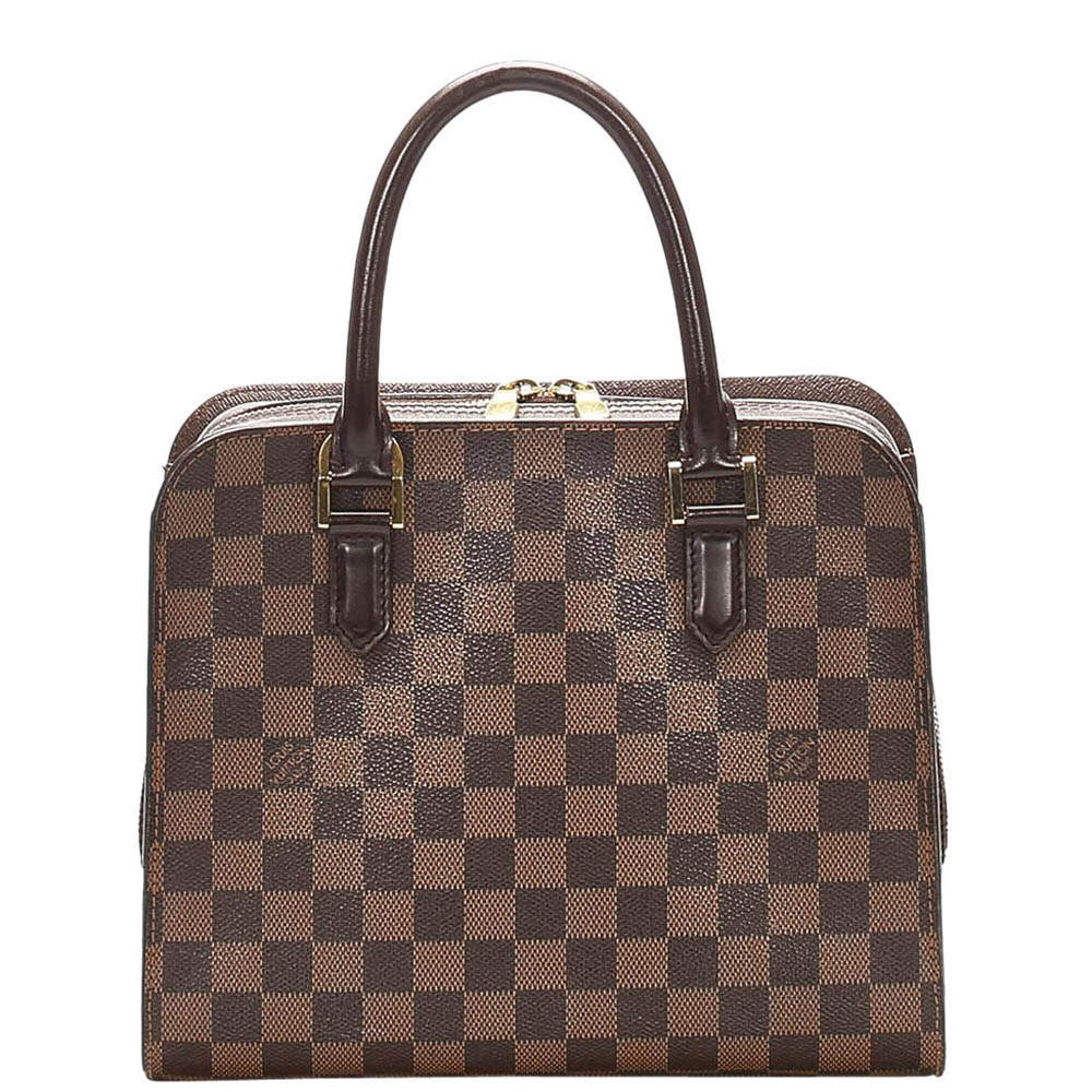 Louis Vuitton Damier Ebene Canvas Triana Bag