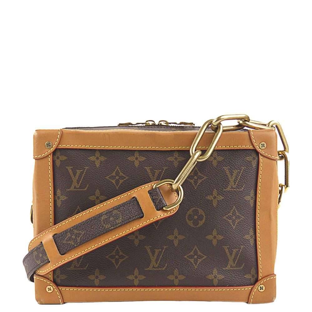 Louis Vuitton Brown Monogram Canvas Soft Trunk Bag