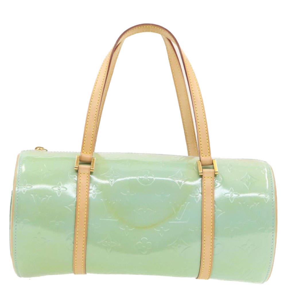 Louis Vuitton Green Monogram Vernis Bedford Bag