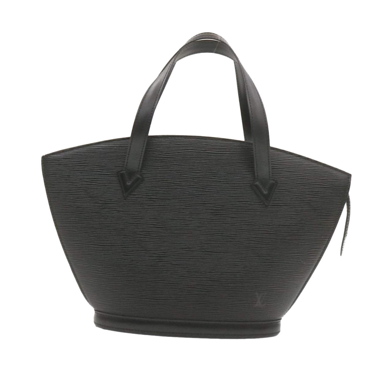 Louis Vuitton Black Epi Leather Saint Jacques Shopping Bag